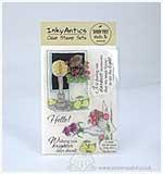 SO: Inky Antics - HoneyPOP Clear Stamp Set - Still Life Scenes