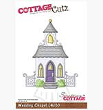 Cottage Cutz - 4x6 Cutting Die - Wedding Chapel