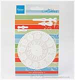 SO: Marianne Design - Craftables - Clock