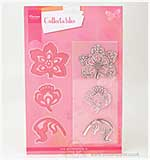 Marianne Design - Collectables Dies w/Stamps - Flowers and Leaf