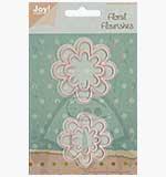 Joy Crafts Floral Flourishes Cutting Dies - Flower 4