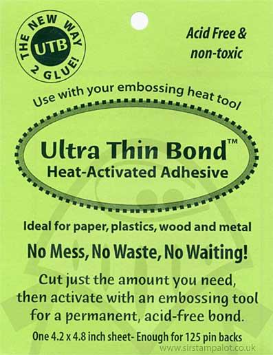 Ultra Thin Bond Heat-Activated Adhesive Sheet