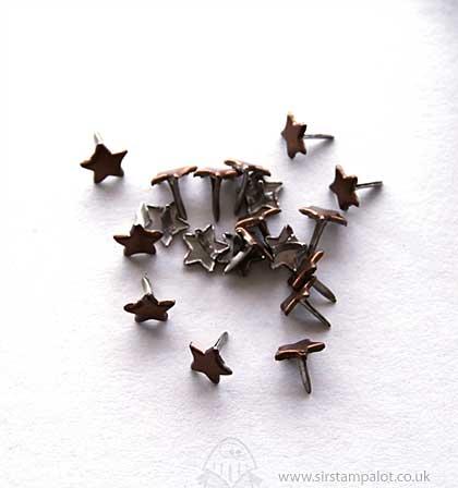 SO: Brads - Stars - Brown