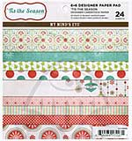MME 6x6 Designer Paper Pad - Tis the Season