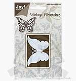 SO: Joy Crafts Cutting Die - Vintage Flourishes - Butterfly
