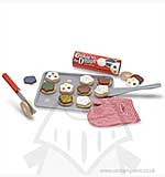 Melissa and Doug - Wooden Food Slice and Bake Cookie Play Set
