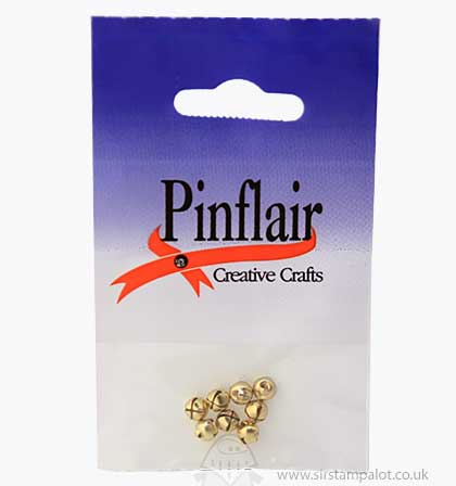 SO: Pinflair Jingle Bells Gold 6mm