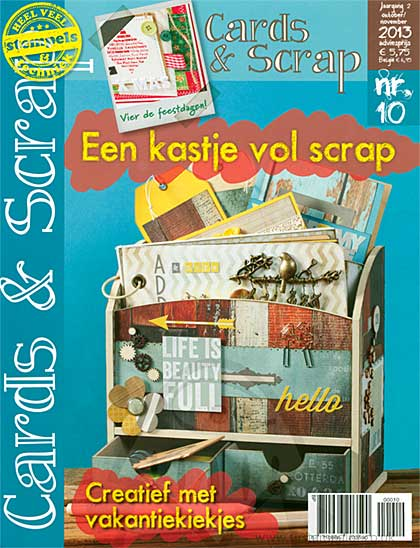 Cards and Scrap Magazine - October November 2013 (dutch text)