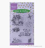 Marianne Design - Don and Daisy Clear Stamps - Spring