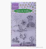 Marianne Design - Don and Daisy Clear Stamps - Summer