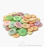 Buttons - Pastels (Average 60grams)