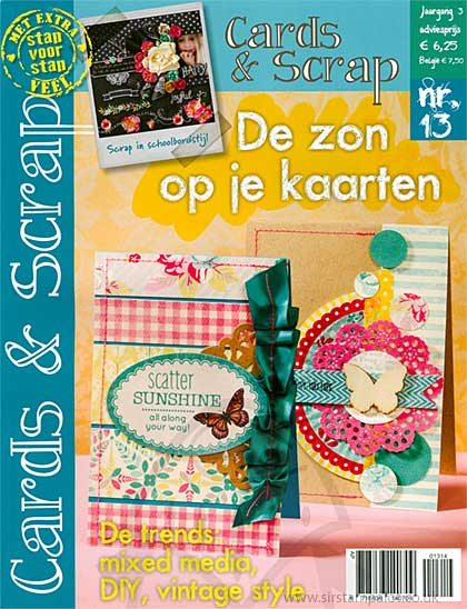 Cards and Scrap Magazine - March April 2014 (dutch text)
