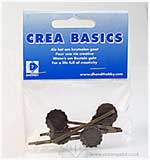 Crea-Basics Metal Embellishments - Attache Crevatte Tie Clips 5P