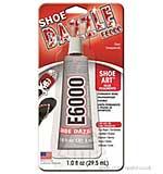 E6000 Adhesive Glue Shoe Dazzle Clear Transparent 1FL OZ