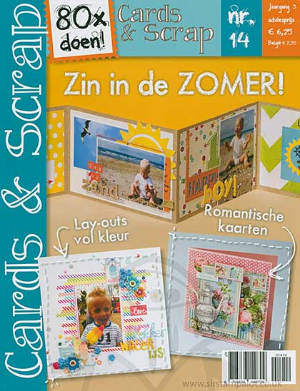 Cards and Scrap Magazine - May June 2014 (dutch text)
