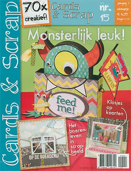 Cards and Scrap Magazine - July August 2014 (dutch text)