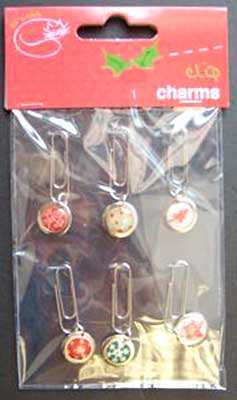 SO: Epoxy Crystal Clip Charms 6pk