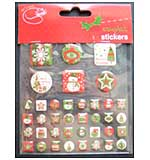 Epoxy Crystal Stickers - 38 Assorted