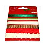 Assorted Christmas Ribbon (6pk)