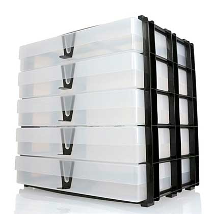 SO: EOL: A4 Storage Stak - 5 x A4 Boxes