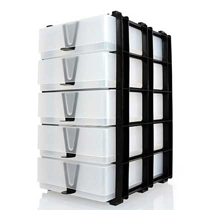 EOL: A5 Storage Stak - 5 x A5 Boxes