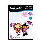Santoro Tutti Cuti Rubber Stamp - We Love The Rain
