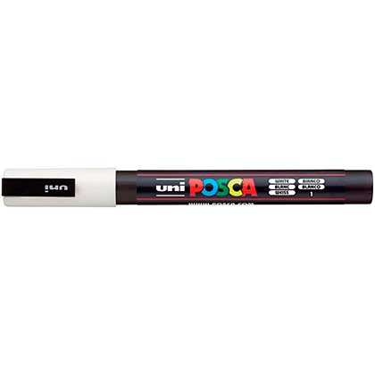 SO: POSCA 3M Fine Bullet Tip Pen - White