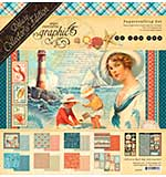 SO: Graphic 45 By The Sea - Deluxe Collectors Edition Pack 12x12