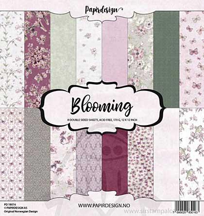 Papirdesign Blooming Paper Pack (12x12)