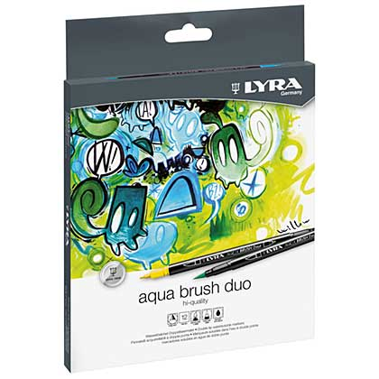LYRA Aqua Brush Duo (12 Pen Box)