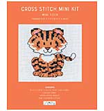 Cross Stitch Mini Kit - Baby Tiger