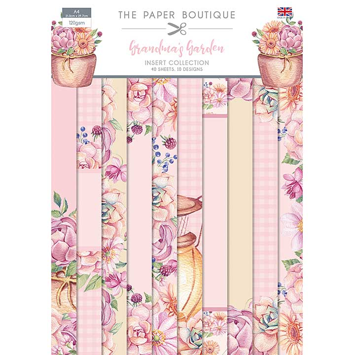 The Paper Boutique Grandma\'s Garden Insert Collection