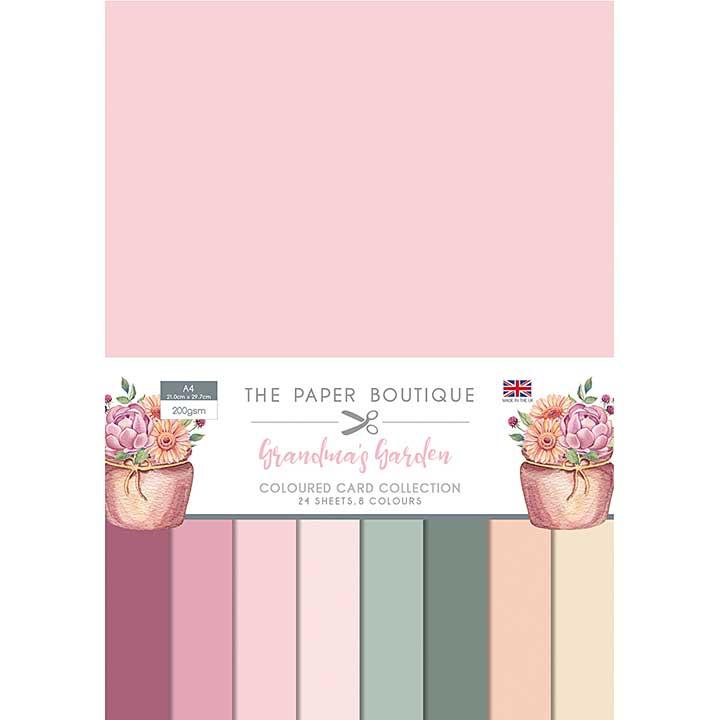 The Paper Boutique Grandma\'s Garden Colour Card Collection