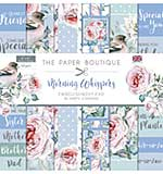 The Paper Boutique Morning Whispers 8x8 Embellishments Pad