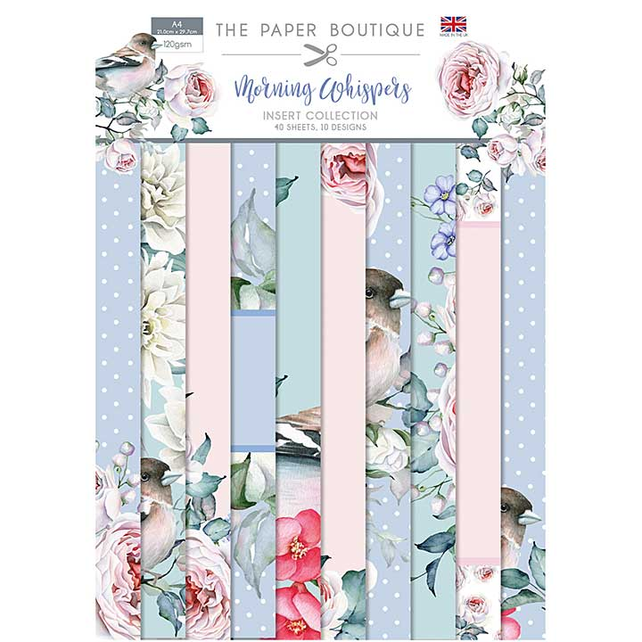 The Paper Boutique Morning Whispers Insert Collection