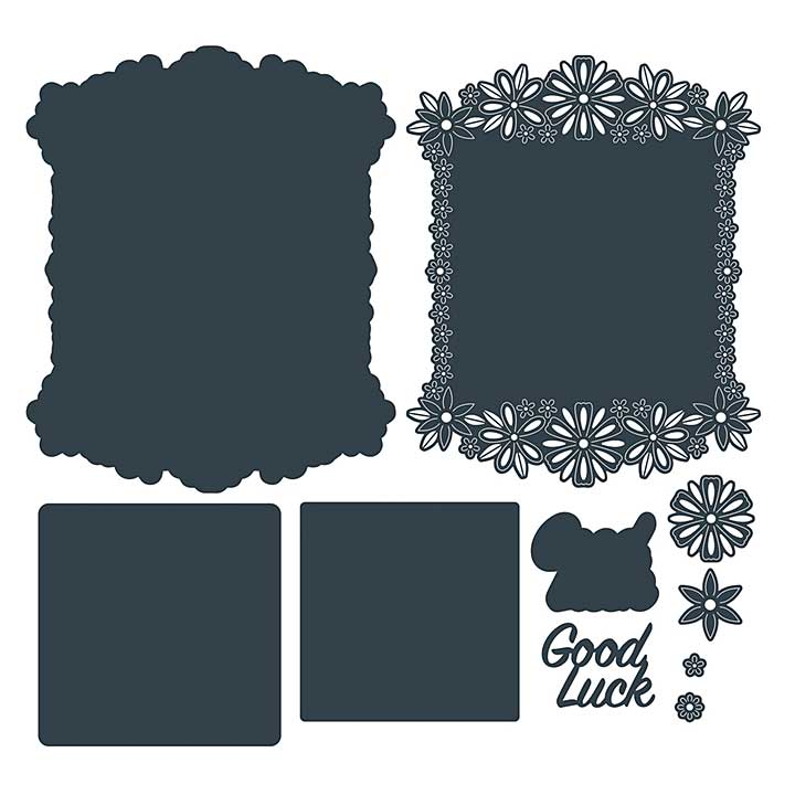 The Paper Boutique Die - Good Luck