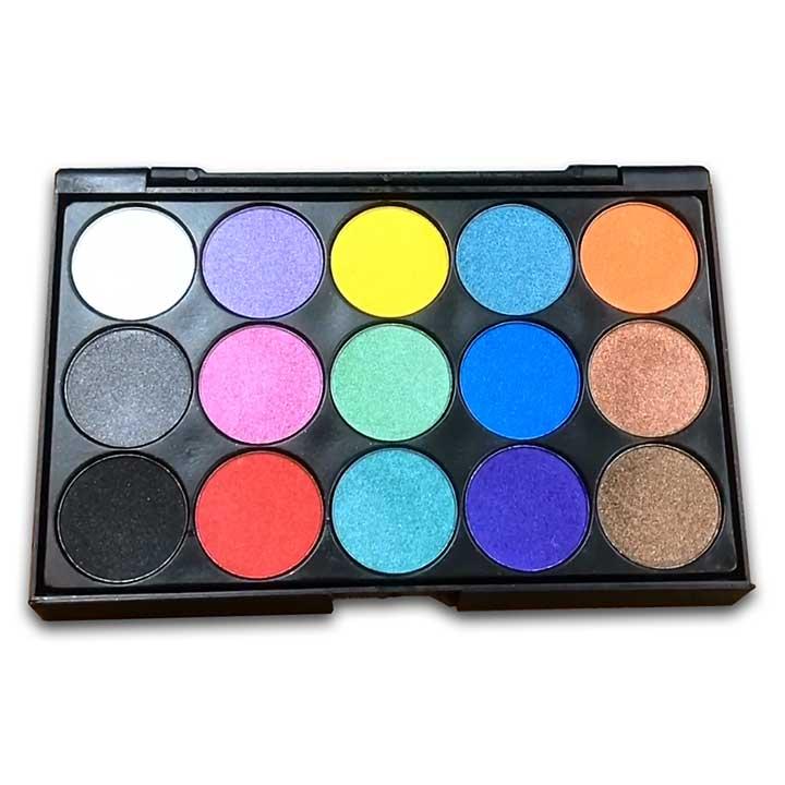 Craft Artist Mica Magic - Basic Brights Pigment Paint Set (15 Colours)