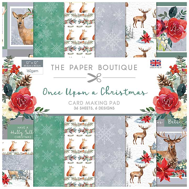 The Paper Boutique Once Upon a Christmas 12x12 Paper Pad