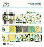 Simple Stories Collector's Essential Kit 12x12 - Simple Vintage Lemon Twist