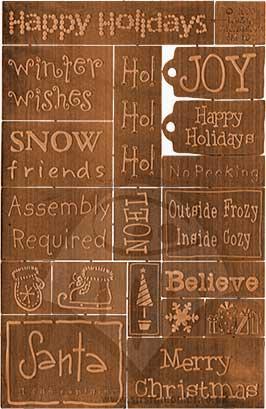 Senti-Metals - Whimsical Winter - Copper