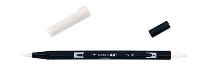 Tombow Dual End Blender Brush Pen (Clear)
