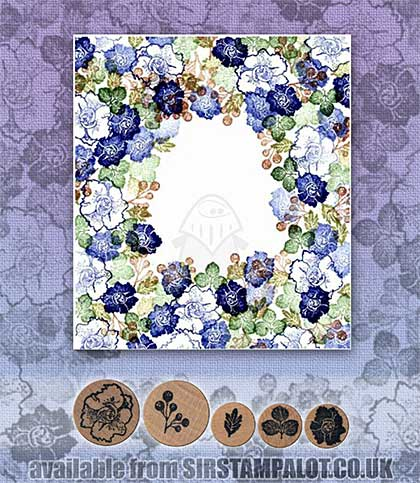 SO: Rubber Stamp Tapestry - Summer Floral Set