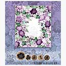 Rubber Stamp Tapestry - Spring Floral Wreath Set