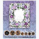 Rubber Stamp Tapestry - Floral Frame Set