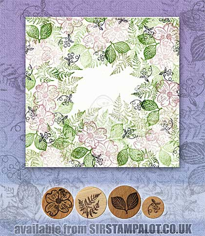 SO: Rubber Stamp Tapestry - Dogwood Forest Set