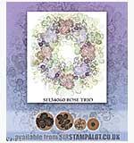 SO: Rubber Stamp Tapestry - Rose Trio
