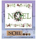 SO: Rubber Stamp Tapestry - Noel Set