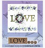 Rubber Stamp Tapestry - LOVE Set