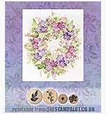 Rubber Stamp Tapestry - Penelopes Fancy