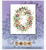 Rubber Stamp Tapestry - Winter Holidays